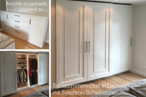 Schlafzimmermöbel-in-Lackweiss-mit-Synchron-Schiebetüren